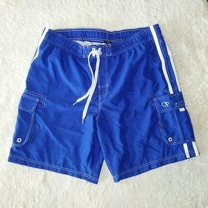 Ocean Pacific Lined Board Shorts/Swim Trunks XL